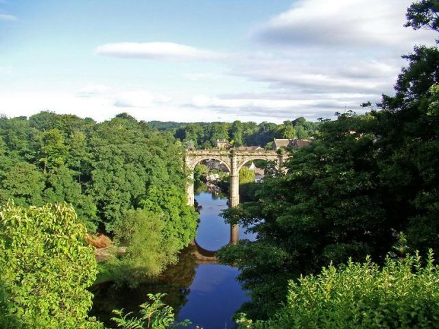 Zdjęcia: Knaresborough, North Yorkshire, widok z zamku (Knaresborough), ANGLIA