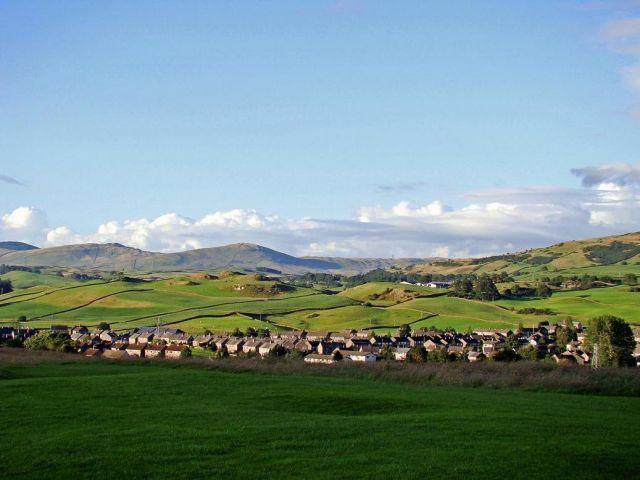 Zdjęcia: Kendal, Lake District, miasteczko Kendal, ANGLIA