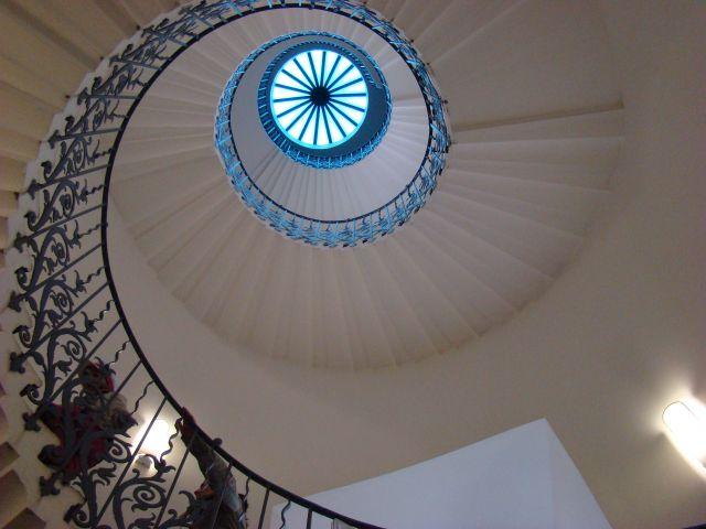 Zdjęcia: Grennwich , Londyn, Schody Królowej, ANGLIA