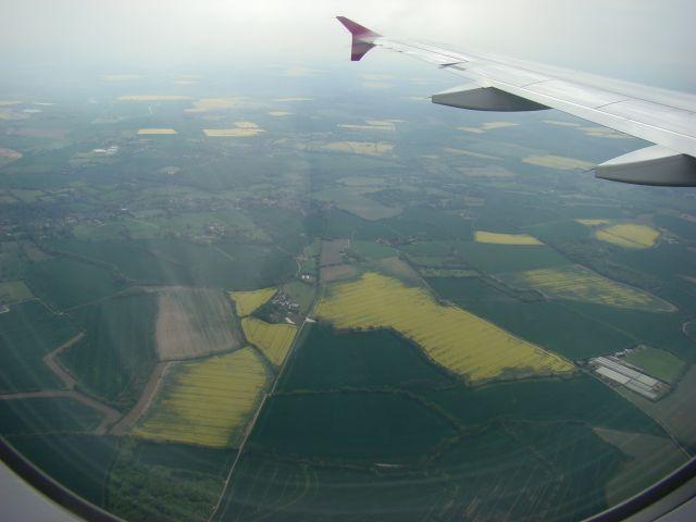 Zdjęcia: Stansted, Londyn, Londowanie, ANGLIA