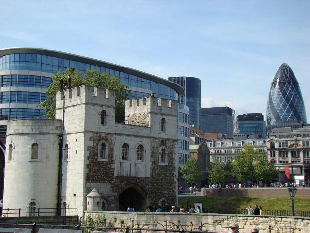Zdjęcia: Tower, Londyn, Ogórek, ANGLIA