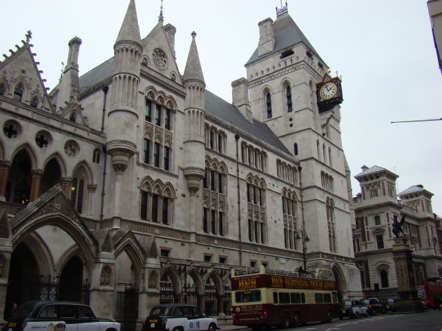 Zdjęcia: Royal Court of Justice, Londyn, Sąd, ANGLIA