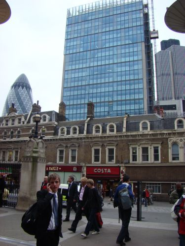 Zdjęcia: Dworzec, Londyn, Liverpool st., ANGLIA