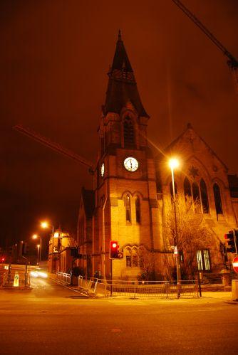 Zdjęcia: centrum, LEEDS, Leeds nocą, ANGLIA