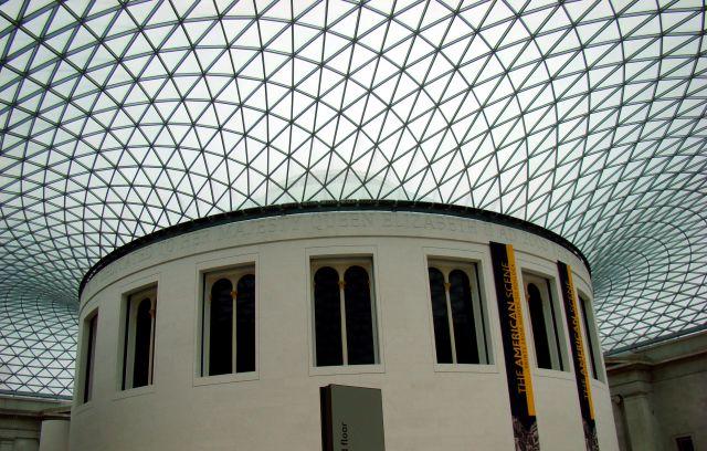 Zdjęcia: The British Museum, Londyn, Świetlik, ANGLIA