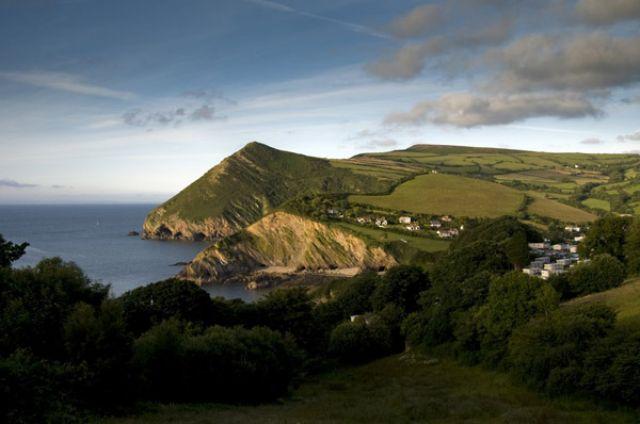 Zdjęcia: Exmoor, Devon, Combe Martin, ANGLIA