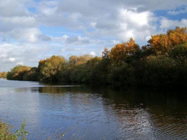 Zdjęcia: okolice Normanton, West Yorkshire, rzeka  Aire, ANGLIA