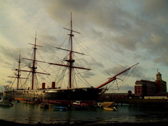 Zdjęcia:  Portsmouth, Stary port , ANGLIA