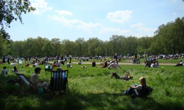 Zdjęcia: Hide Park, Londyn, Lunch, ANGLIA