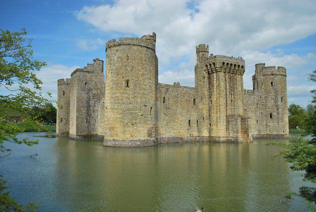 Zdjęcia: Bodiam, East Sussex, Bodiam Castle, ANGLIA