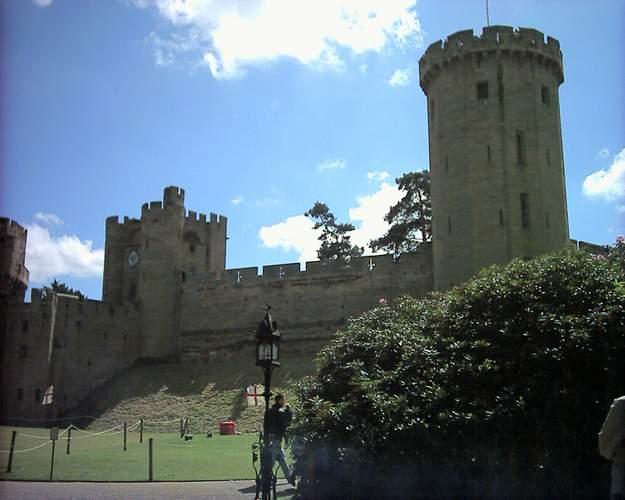 Zdjęcia: Zamek w Warwick, Warwick, Zamek w Warwick 2, ANGLIA