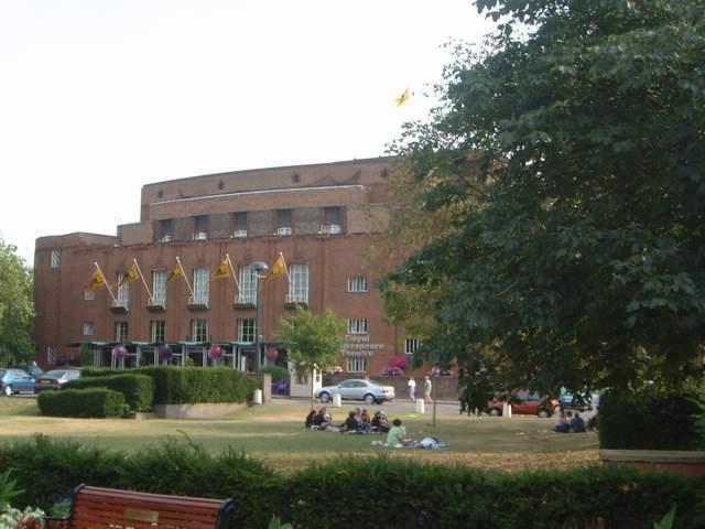 Zdjęcia: Stratford-upon-Avon, Warwciskshire, Królewski teatr Szekspira, ANGLIA