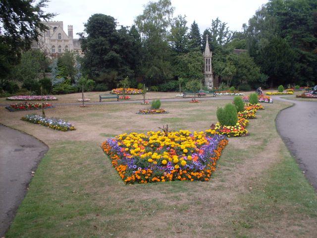 Zdjęcia: Petrborough, katedra i park, ANGLIA