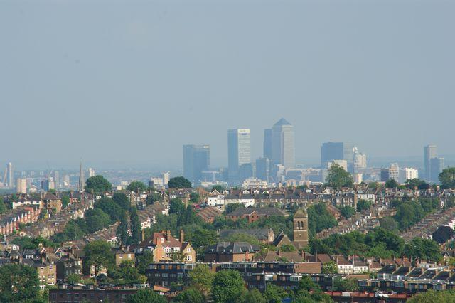 Zdjęcia: Londyn, Panorama Londynu, ANGLIA
