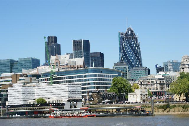 Zdjęcia: Londyn Tower, Widok z Tower bridge, ANGLIA