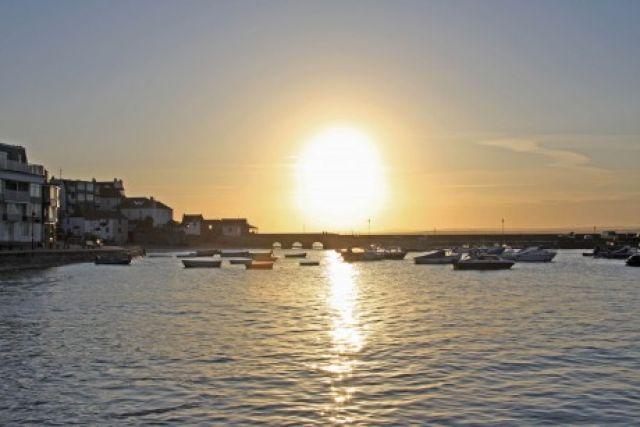 Zdjęcia: St Ives, Cornwall, zachód słońca, ANGLIA
