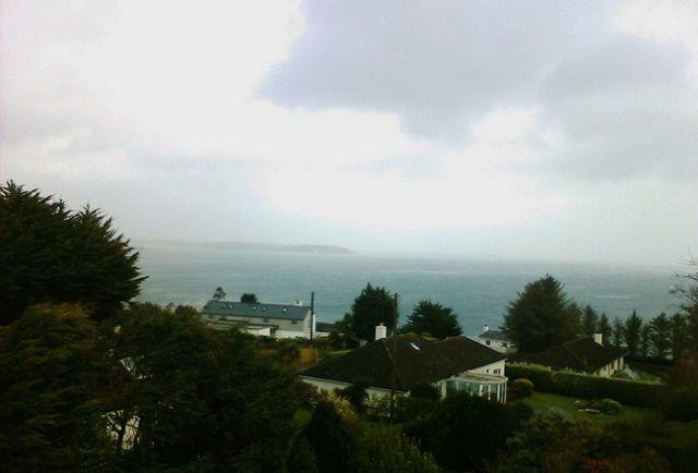 Zdjęcia: Mawnan Smith, Cornwall, Widok z okna, ANGLIA