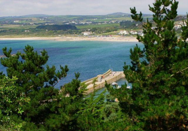 Zdjęcia: St Michaels Mount, Cornwall, Marazion Beach, ANGLIA