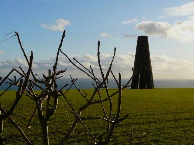 Zdjęcia: niedaleko Kingswear, Devon, The Daymark tower 2, ANGLIA