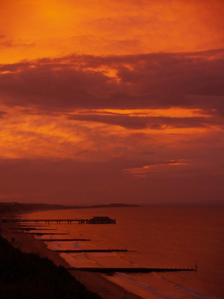 Zdjęcia: Bournemouth, Dorset, Wschód słońca, ANGLIA
