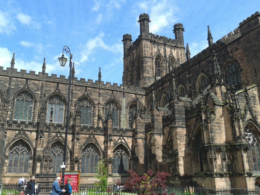 Zdjęcia: Chester, Cheshire, Katedra, ANGLIA