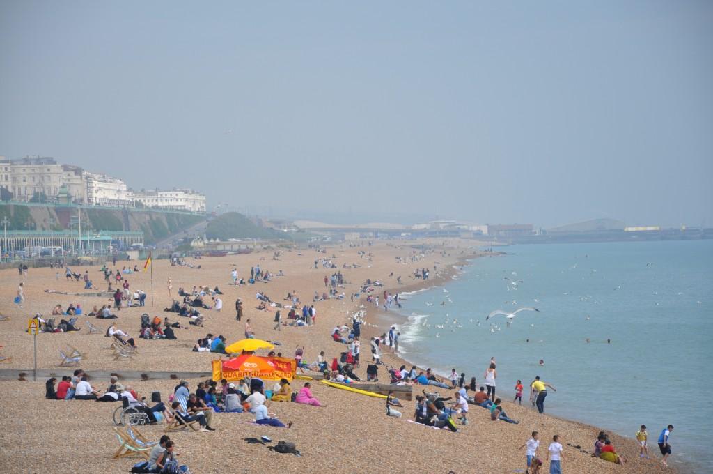 Zdjęcia: Brighton, Brighton, plaża, ANGLIA