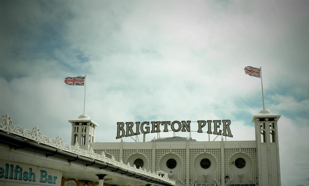 Zdjęcia: Brighton, Wielki Londyn, Brighton, molo z rozrywkami, ANGLIA