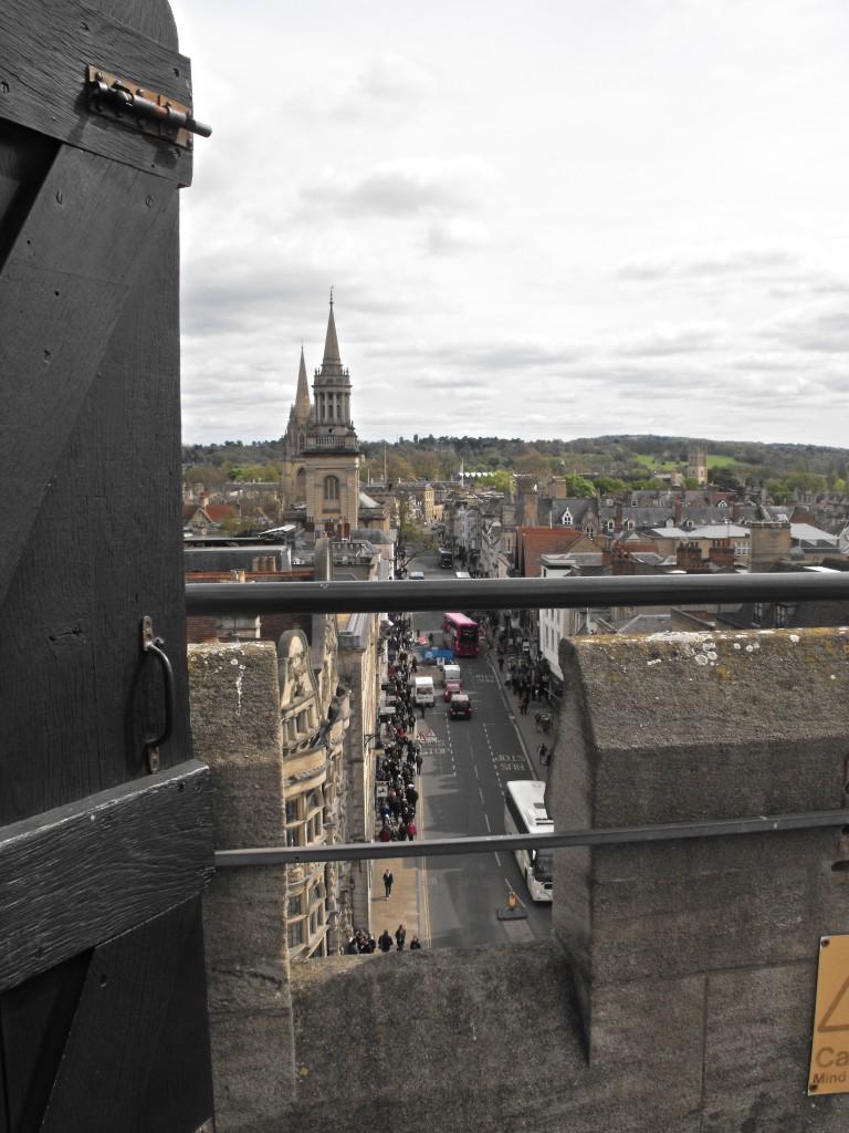 Zdjęcia: Oxford, Oxfordshire, z wiezy, ANGLIA