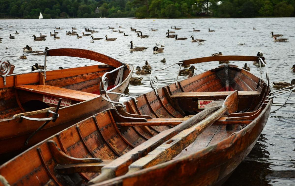 Zdjęcia: Keswick, Lake District, Łódki, ANGLIA