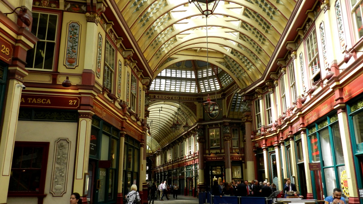 Zdjęcia: Londyn, City of London, Leadenhall Market, ANGLIA