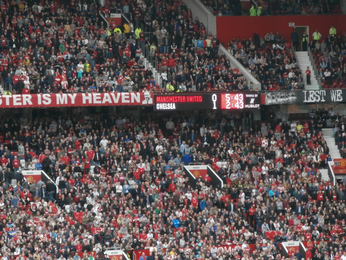 Zdjęcia: Manchester, Manchester United - Chelsea, ANGLIA