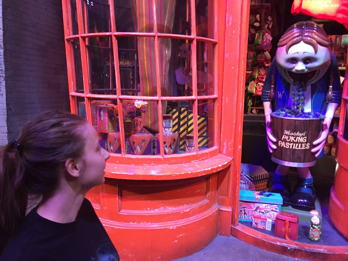 Zdjęcia: Muzeum Harry Potter, Londyn, Na ulicy Pokątnej , ANGLIA