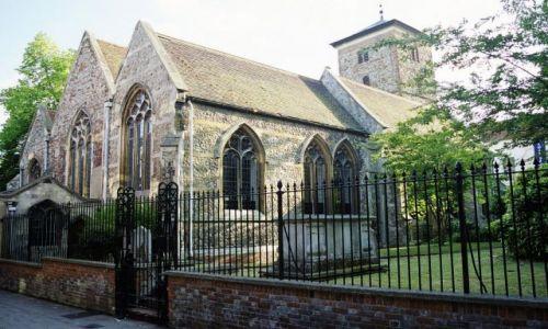Zdjęcie ANGLIA / Essex / Colchester / Kościół