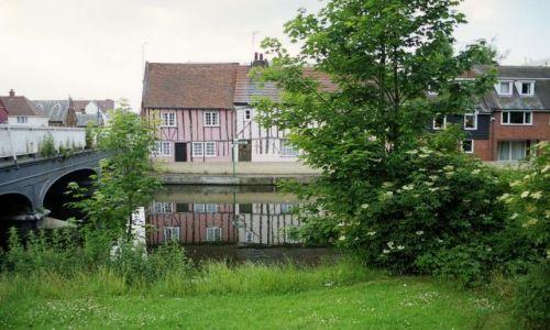 Zdjęcie ANGLIA / Essex / Colchester / Nad rzeką