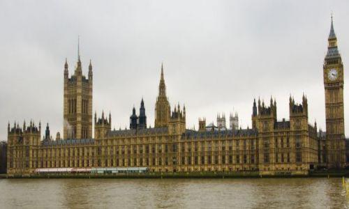 Zdjecie ANGLIA / Londyn / Londyn / Pałac Westminst