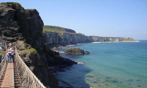 Zdjęcie ANGLIA / Irlandia Pn. / Hrabstwo Antrim / Widoki z mostu linowego :)