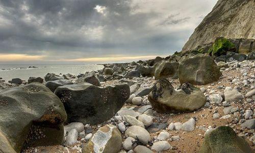 Zdjecie ANGLIA / Sussex / Beachy Head / Kamienna cisza