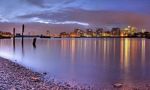 Zdjecie ANGLIA / brak / Londyn, Greenwich / Thames' view