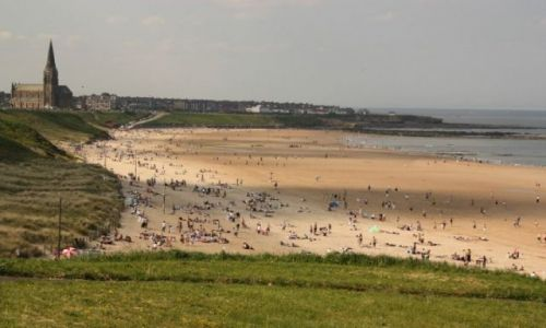 Zdjecie ANGLIA / North Tyneside / Tynemouth / Longsands Beach