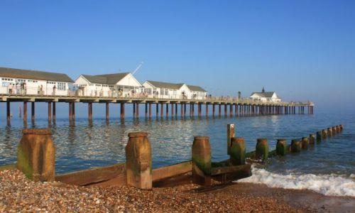 Zdjęcie ANGLIA / Suffolk / Southwold / Southwold pier