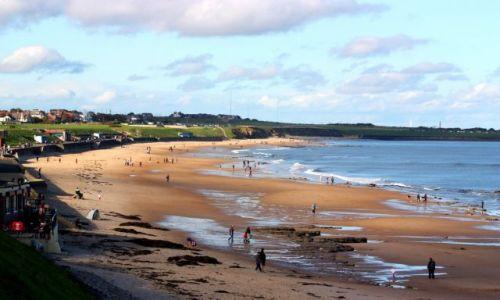 Zdjecie ANGLIA / North Tyneside / Whitley Bay / Whitley Bay - Październikowa niedziela