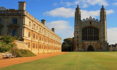 Zdjęcie ANGLIA / East Midlands / Cambridge / King's College Chapel