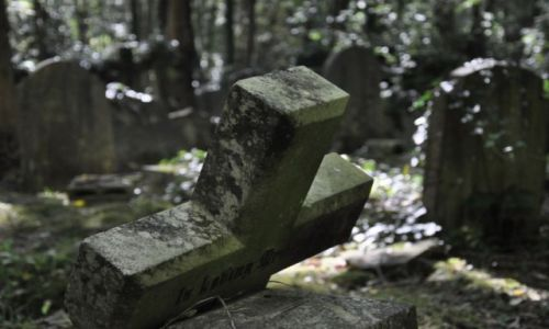 Zdjecie ANGLIA / - / Highgate Cemetery  / Cross