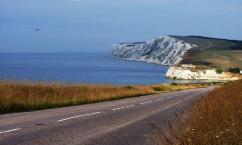 Zdjęcie ANGLIA / Isle of Wight / Isle of Wight / Droga ...