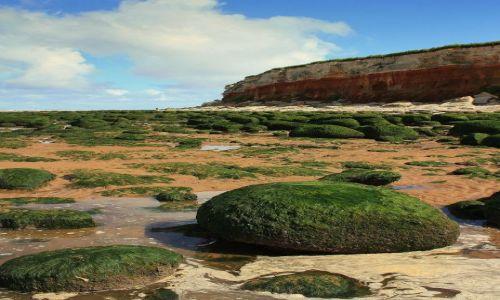 Zdjecie ANGLIA / Norfolk / Hunstanton / Klify Hunstanton