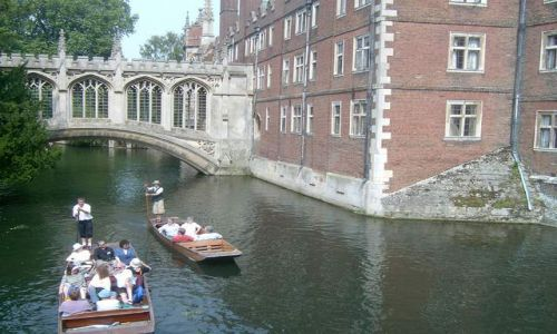 Zdjecie ANGLIA / brak / Cambridge, Bridge of Sighs / Cambridge - Most Westchnień