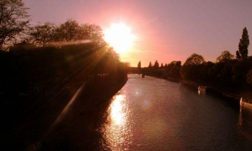 Zdjecie ANGLIA / Yorkshire / YORK / Zachód Słońca