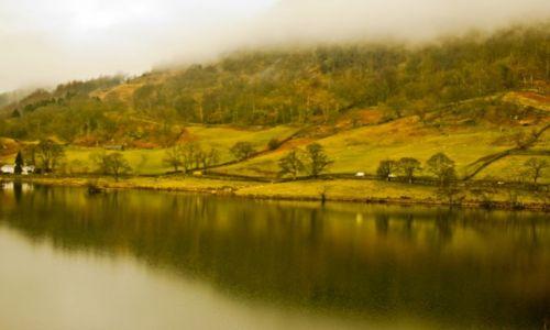 Zdjecie ANGLIA / Lake District / Cumbria / zielona dolina