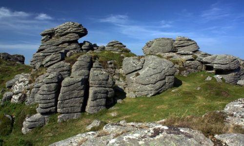 Zdjęcie ANGLIA / Devon / Dartmoor / Honeybag Tor