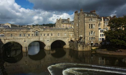 Zdjecie ANGLIA / Somerset / Bath / Most Pulteney